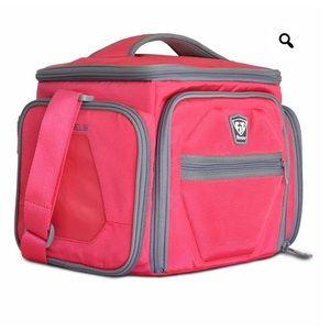 Fitmark Pink Meal Prep Bag